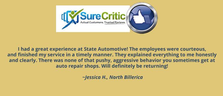 SureCritic Review State Automotive